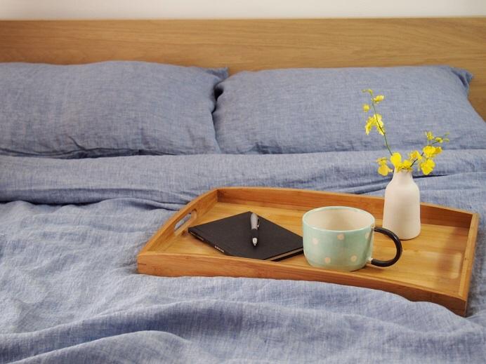 Denim Linen Bed Sheets