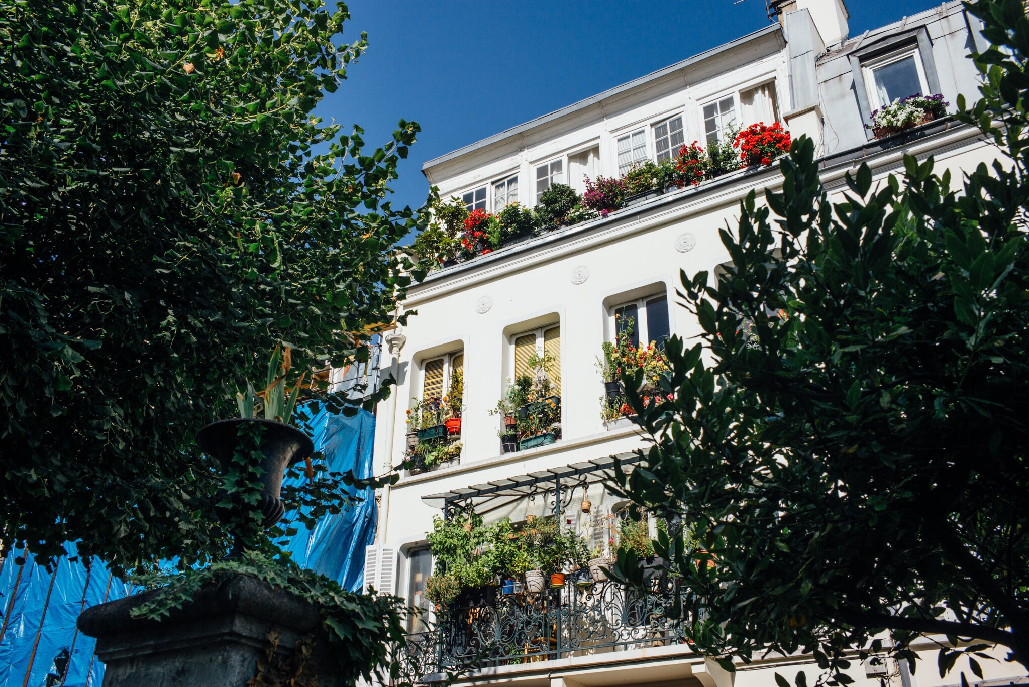 La cité des Fleurs (17ème arrondissement)