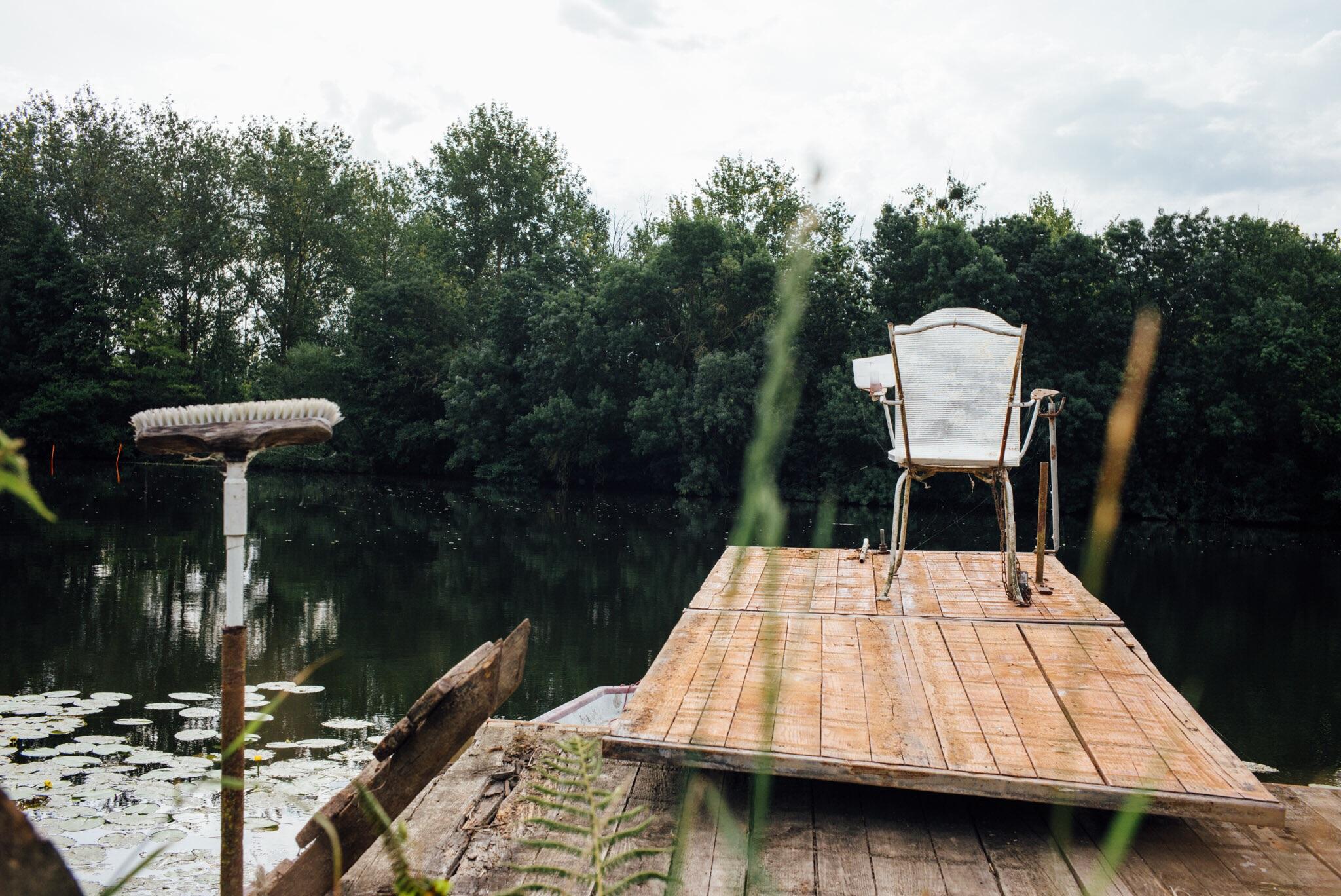La chaise du pêcheur