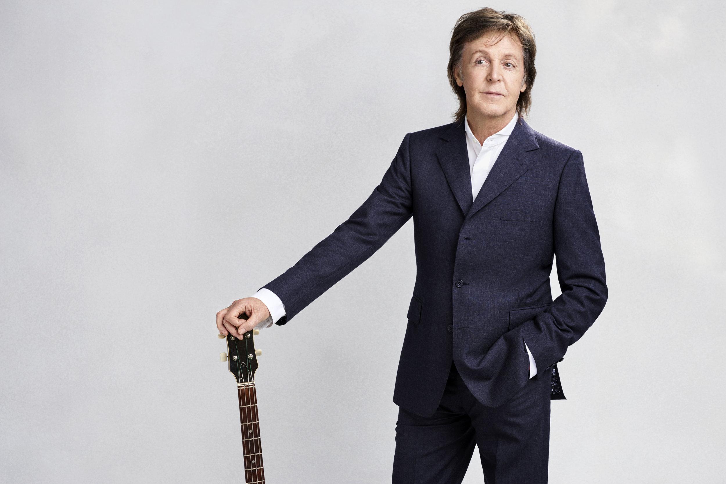 Sir Paul McCartney, 76 ans, éternellement jeune. Photo Mary McCARTNEY