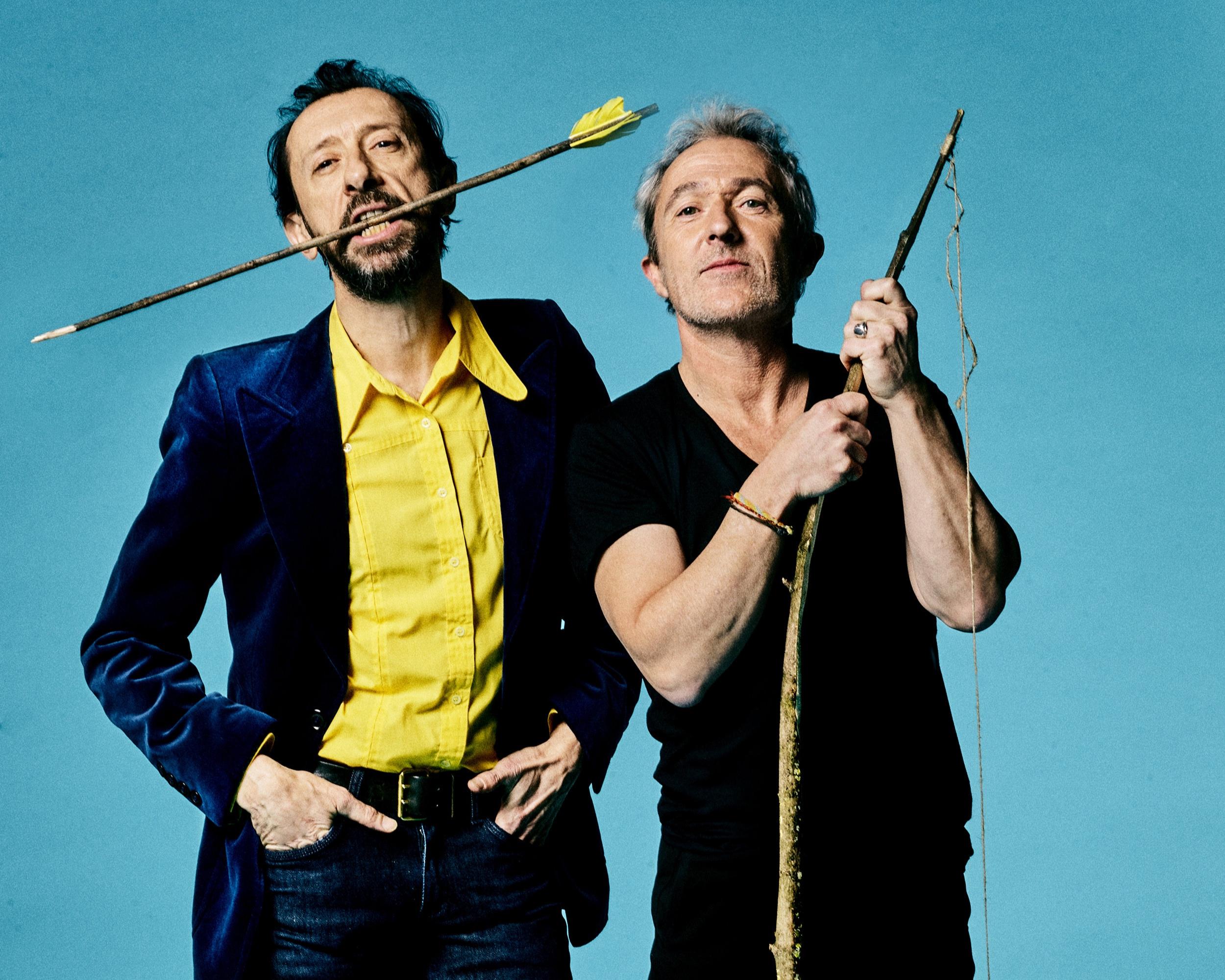 JP Nataf et Jean-Christophe Urbain, en derniers des Mohicans. Photo Yann ORHAN