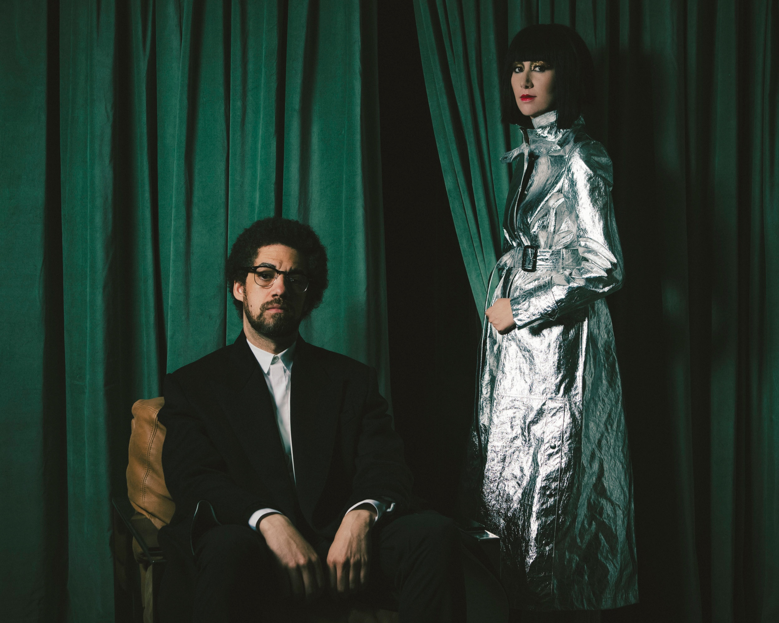 Danger Mouse et Karen O. Photo Eliot Lee HAZEL