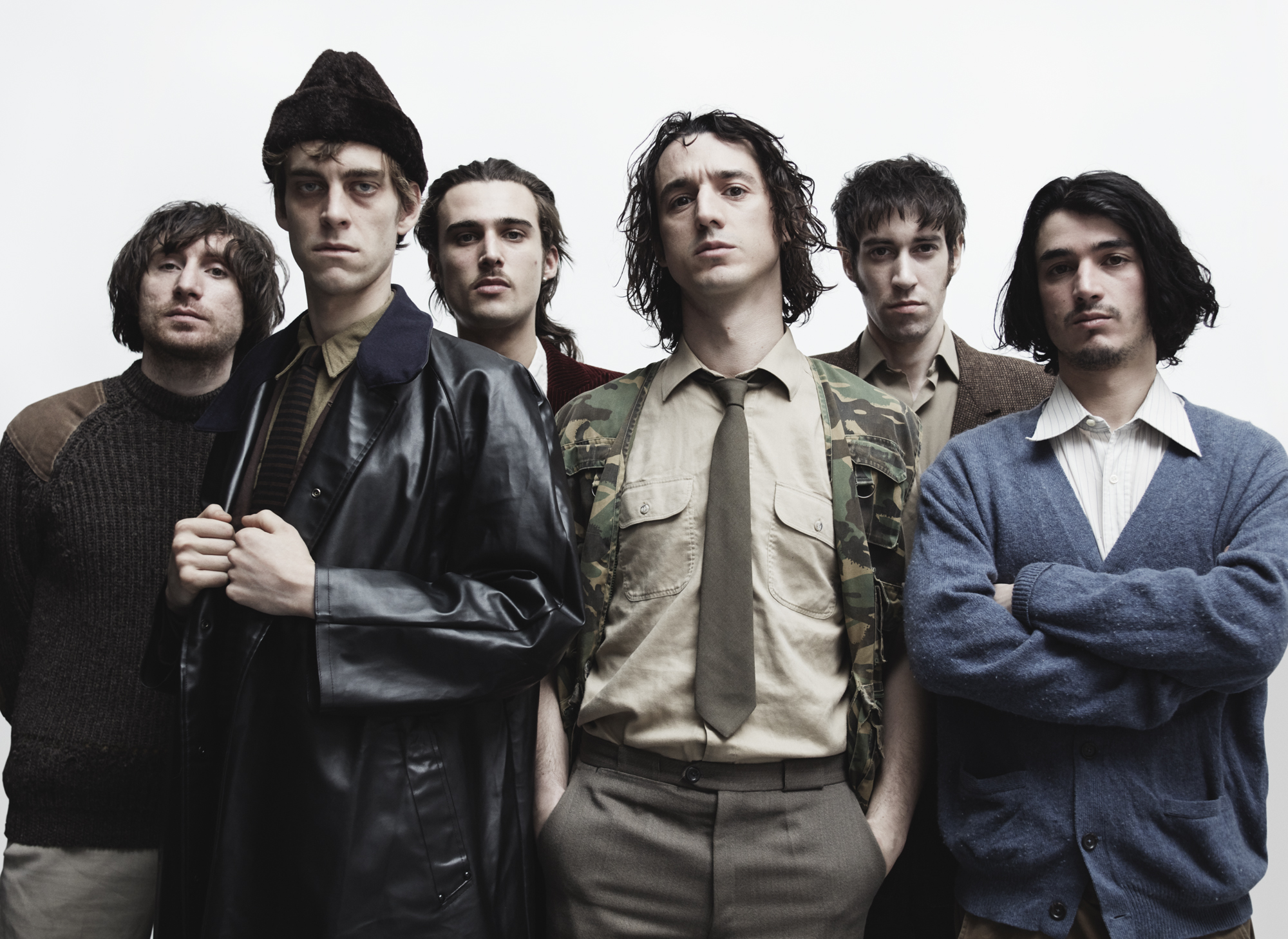 La Fat White Family au complet. Photo Sarah PIANTADOSI
