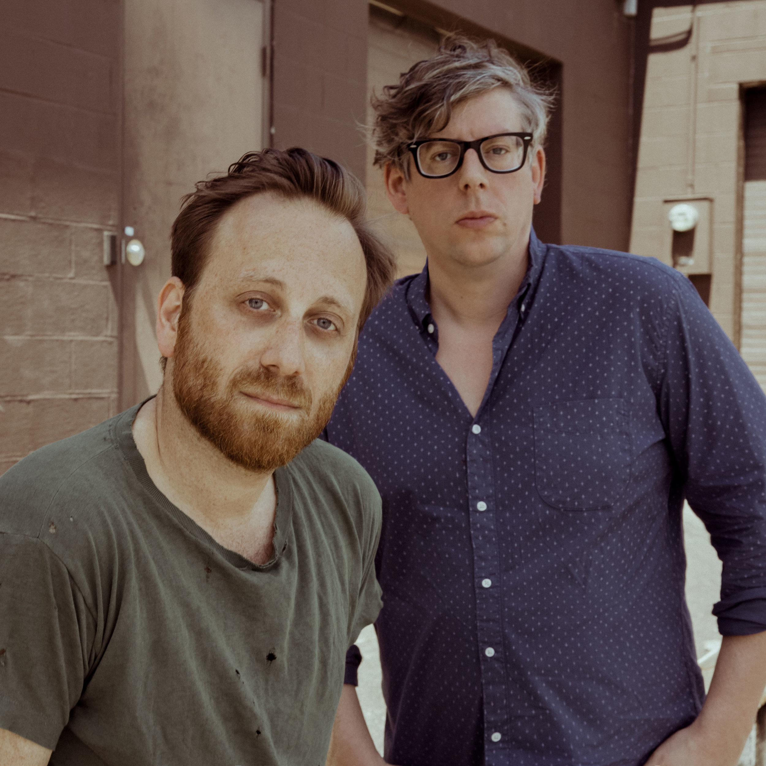Dan Auerbach et Patrick Carney, du duo The Black Keys. Photo : ALYSSE GAFKJEN