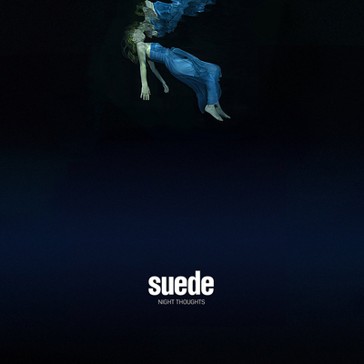 "Album cover photography for Suede's Album ""Night Thoughts"" released in 2017."