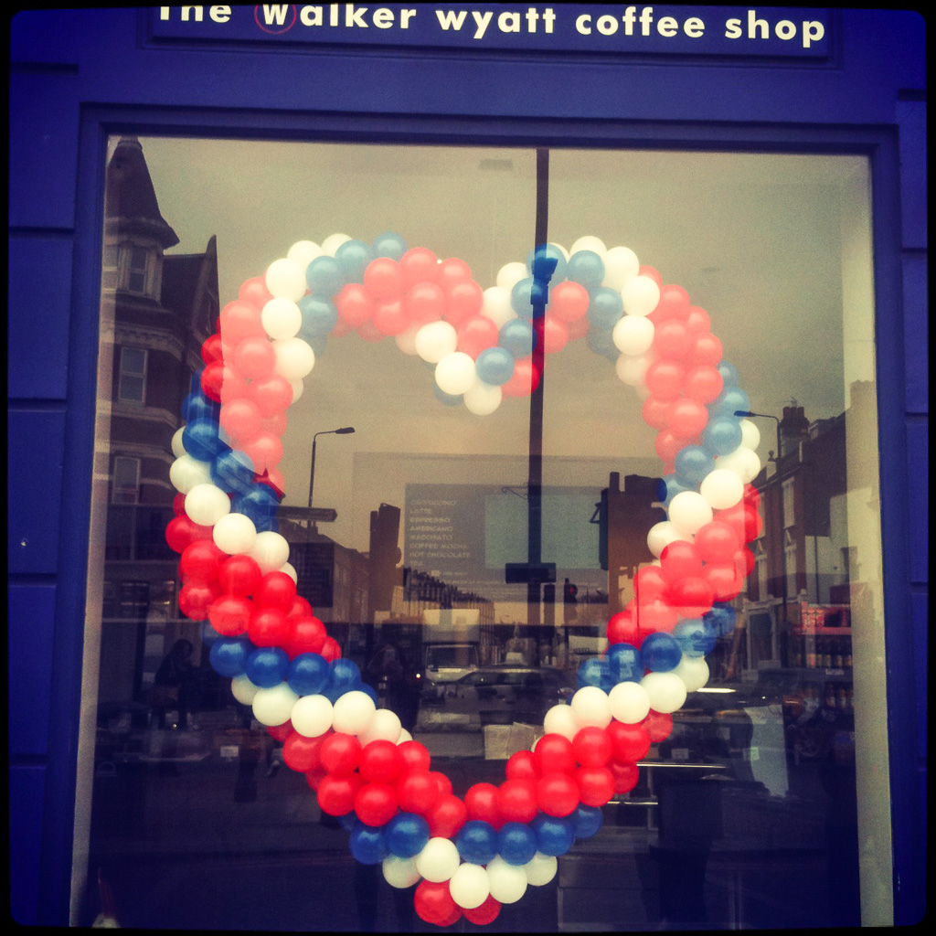 Our favourite local coffee shop. Love.