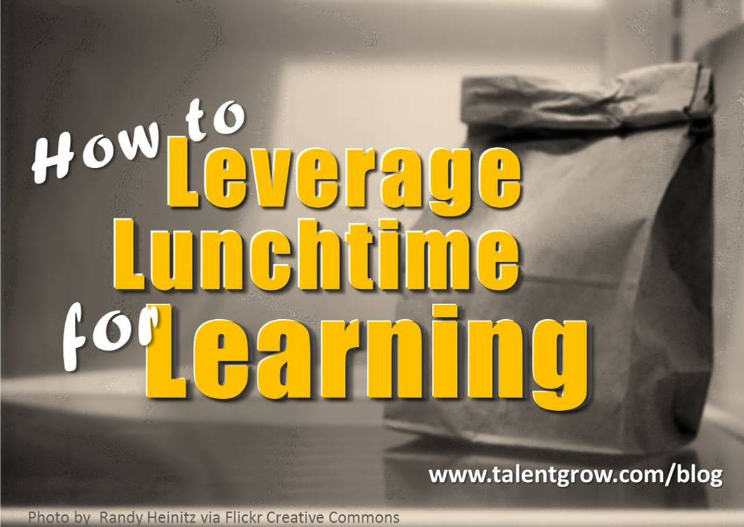 How to Leverage Lunchtime for Learning