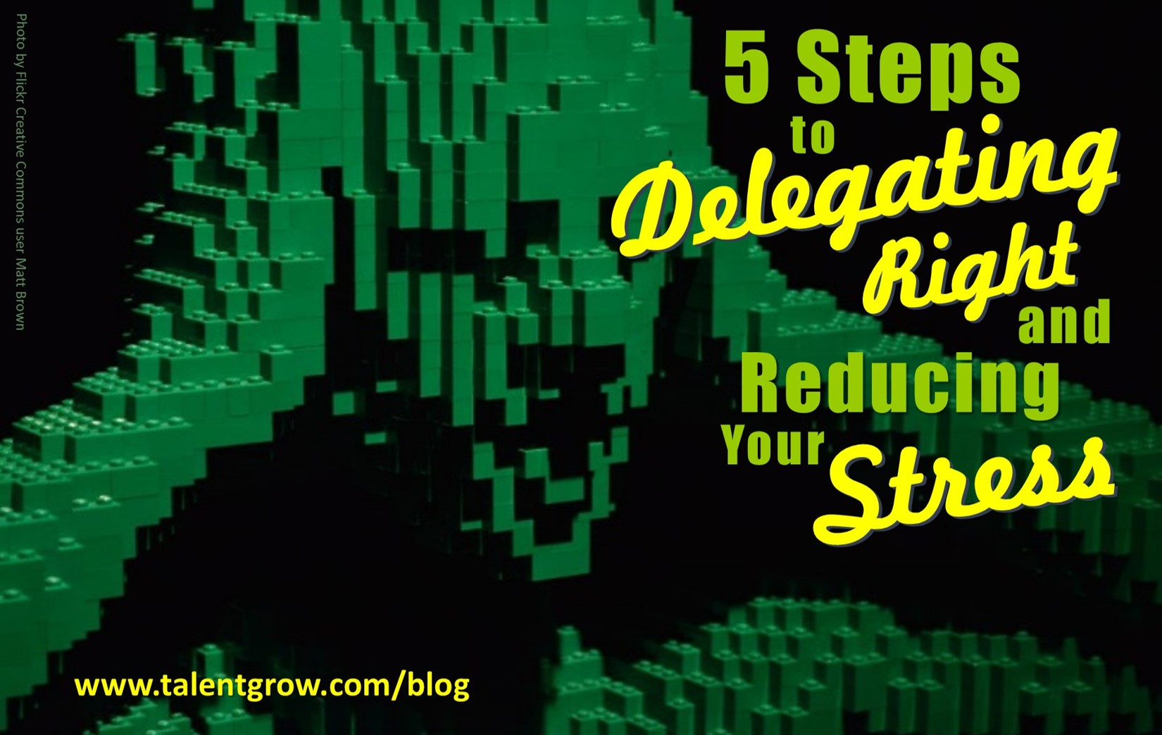 5 steps to delegating right and reducing your stress