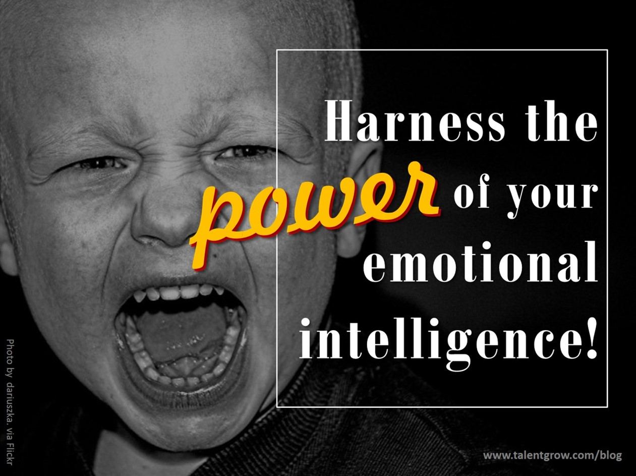 Harness the power of your emotional intelligence!