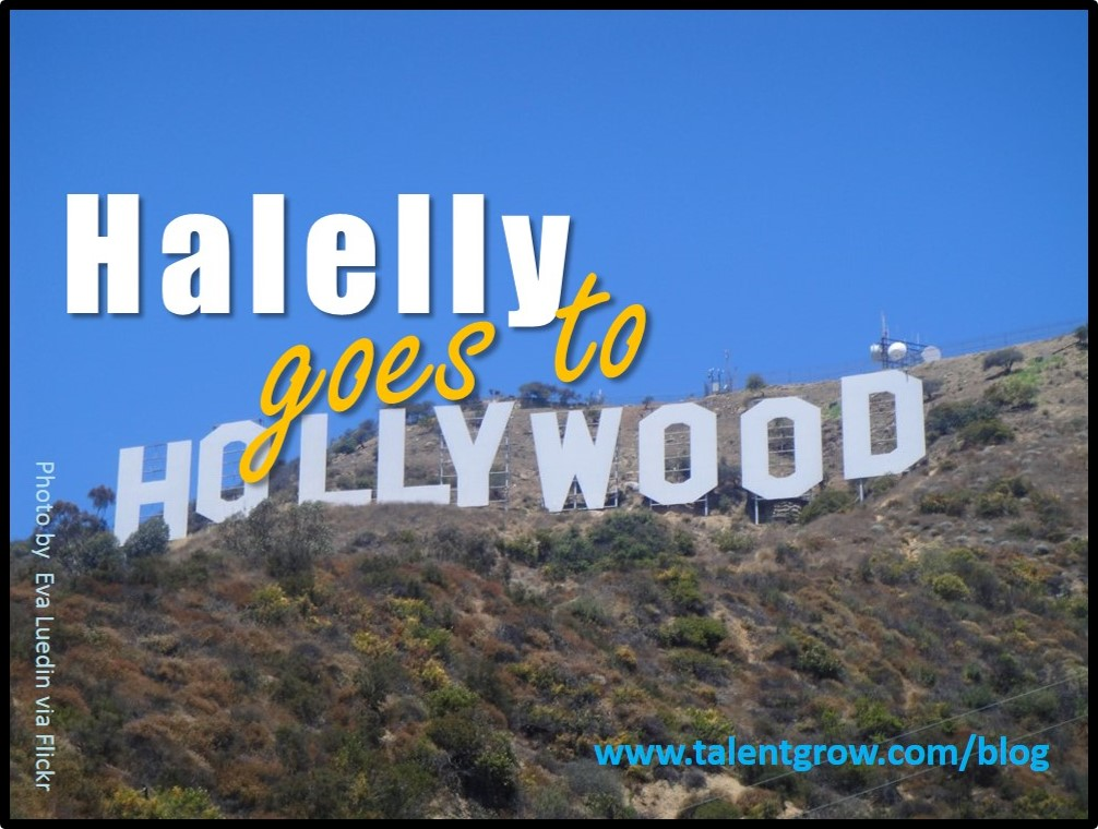 Halelly goes to Hollywood