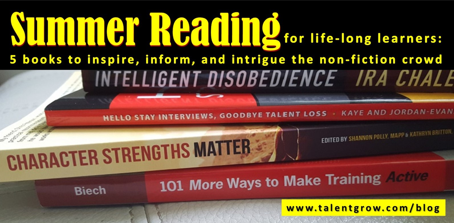 Summer Reading for life-long learners