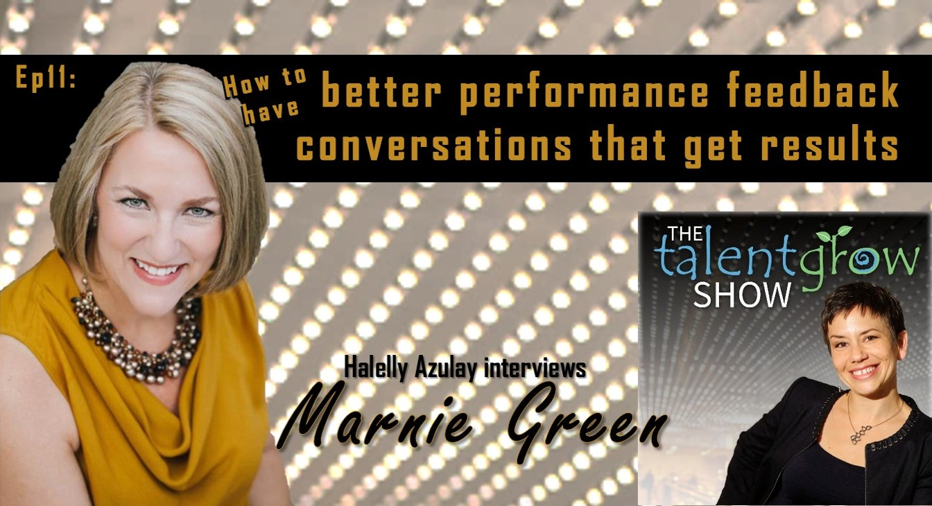 TalentGrow Show podcast episode 11 with Marnie Green
