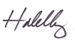 Halelly signature