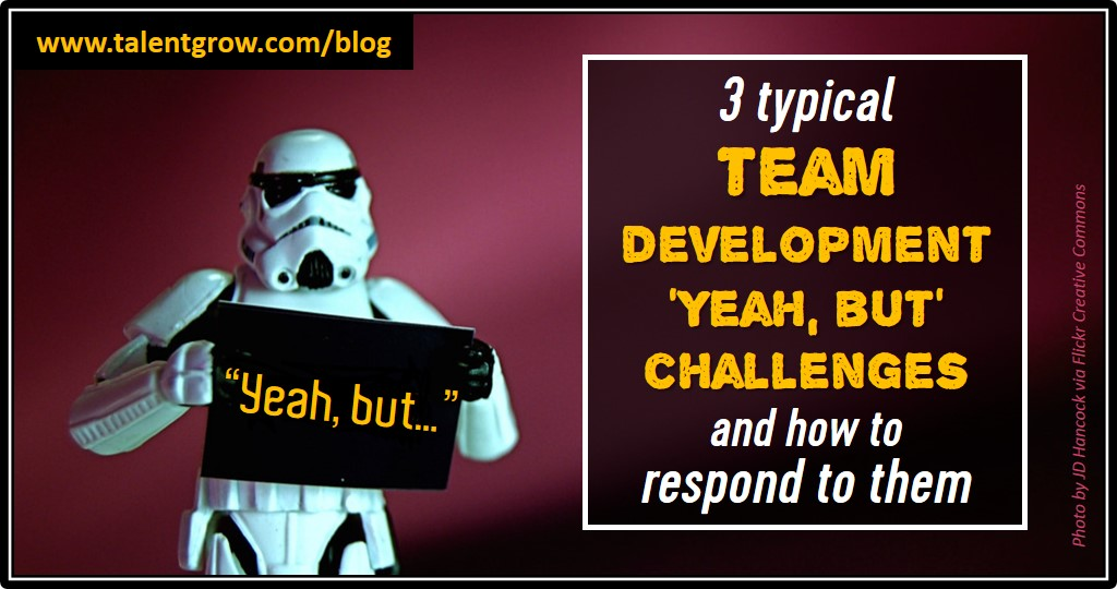 3 typical team development yeah but challenges and how to respond to them TalentGrow blog by Halelly Azulay