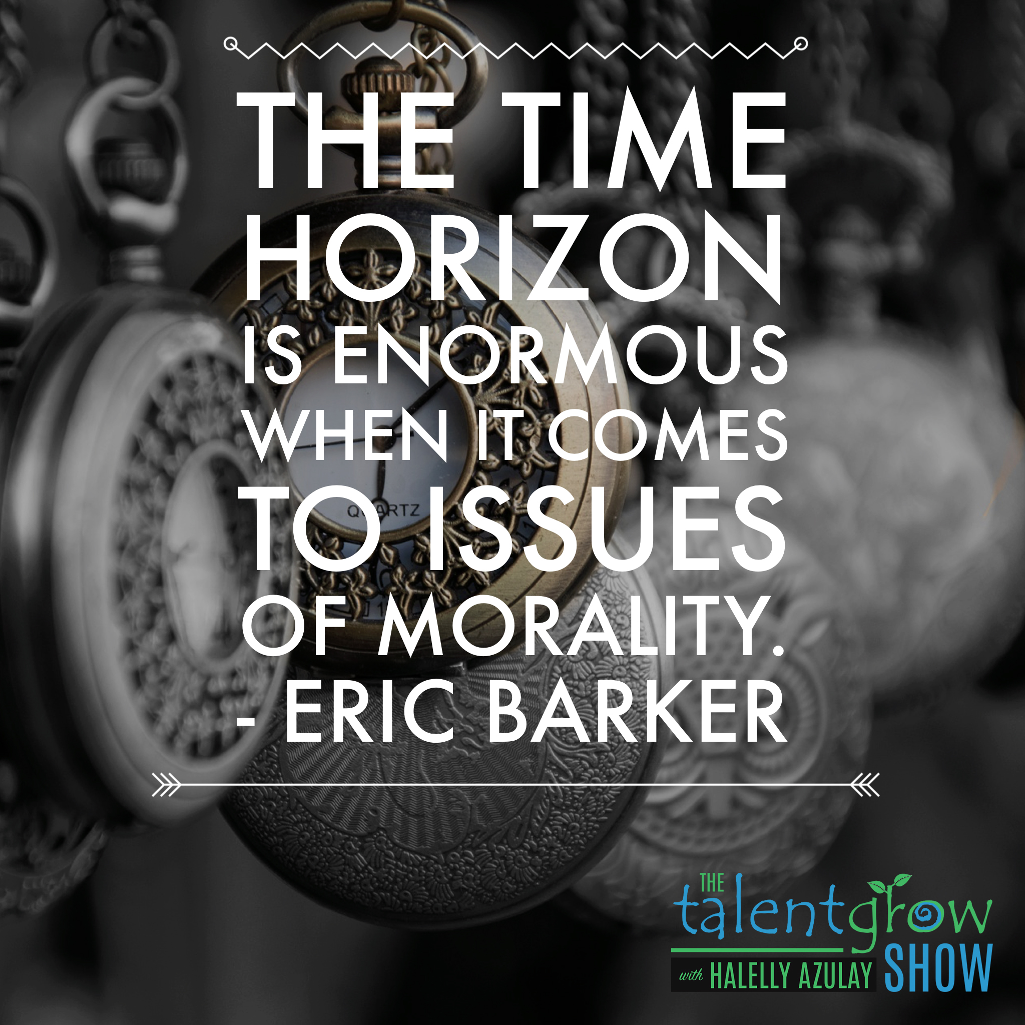 Success tips from Eric Barker on the TalentGrow Show podcast with Halelly Azulay