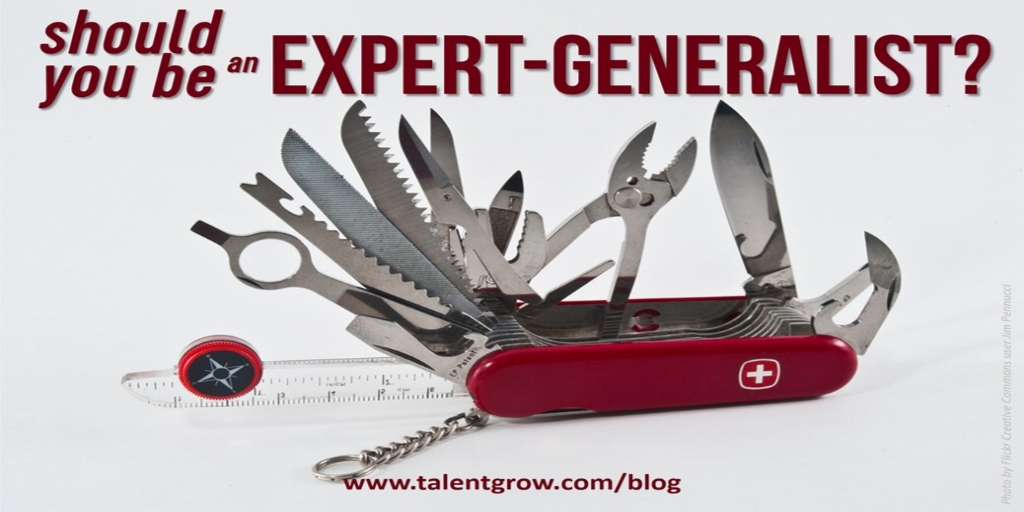 should you be expert generalist TalentGrow blog Halelly Azulay