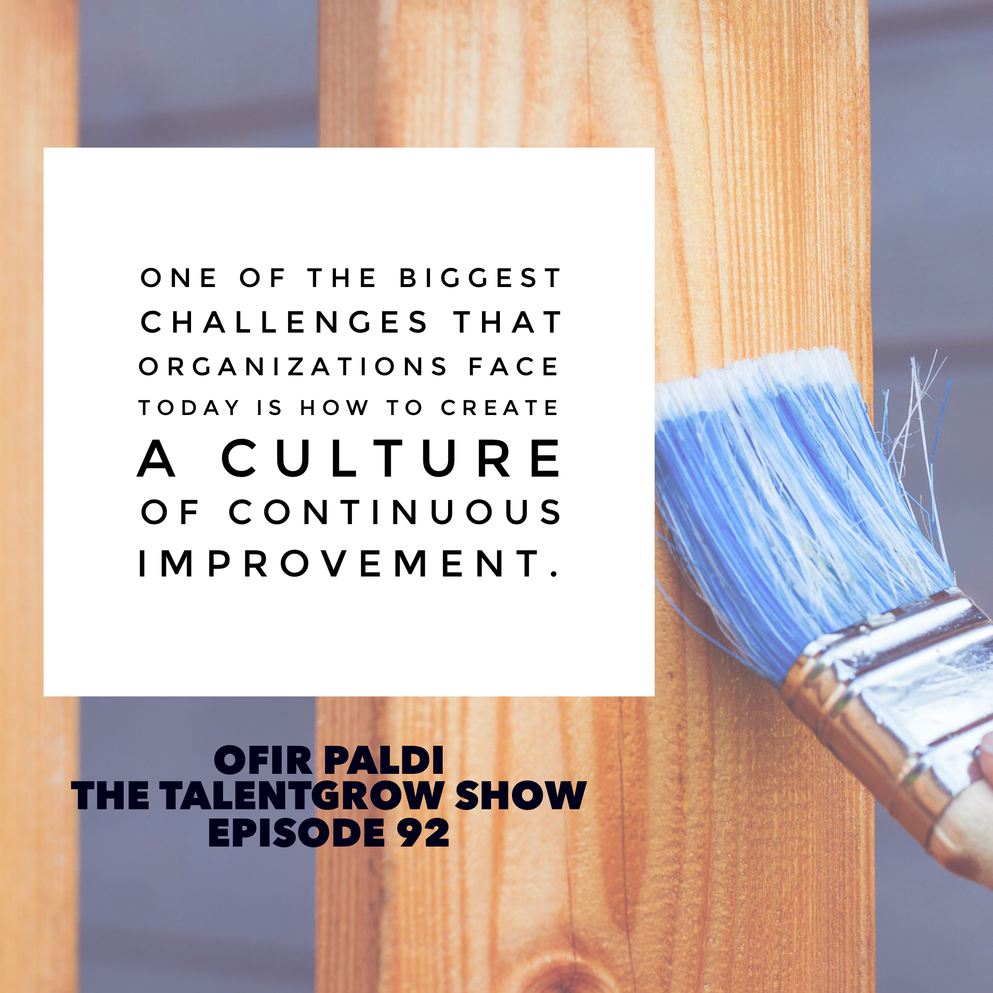 92: Lessons from the Israeli Air Force: Fostering a Culture of Honesty, Accountability, and Improvement with Ofir Paldi