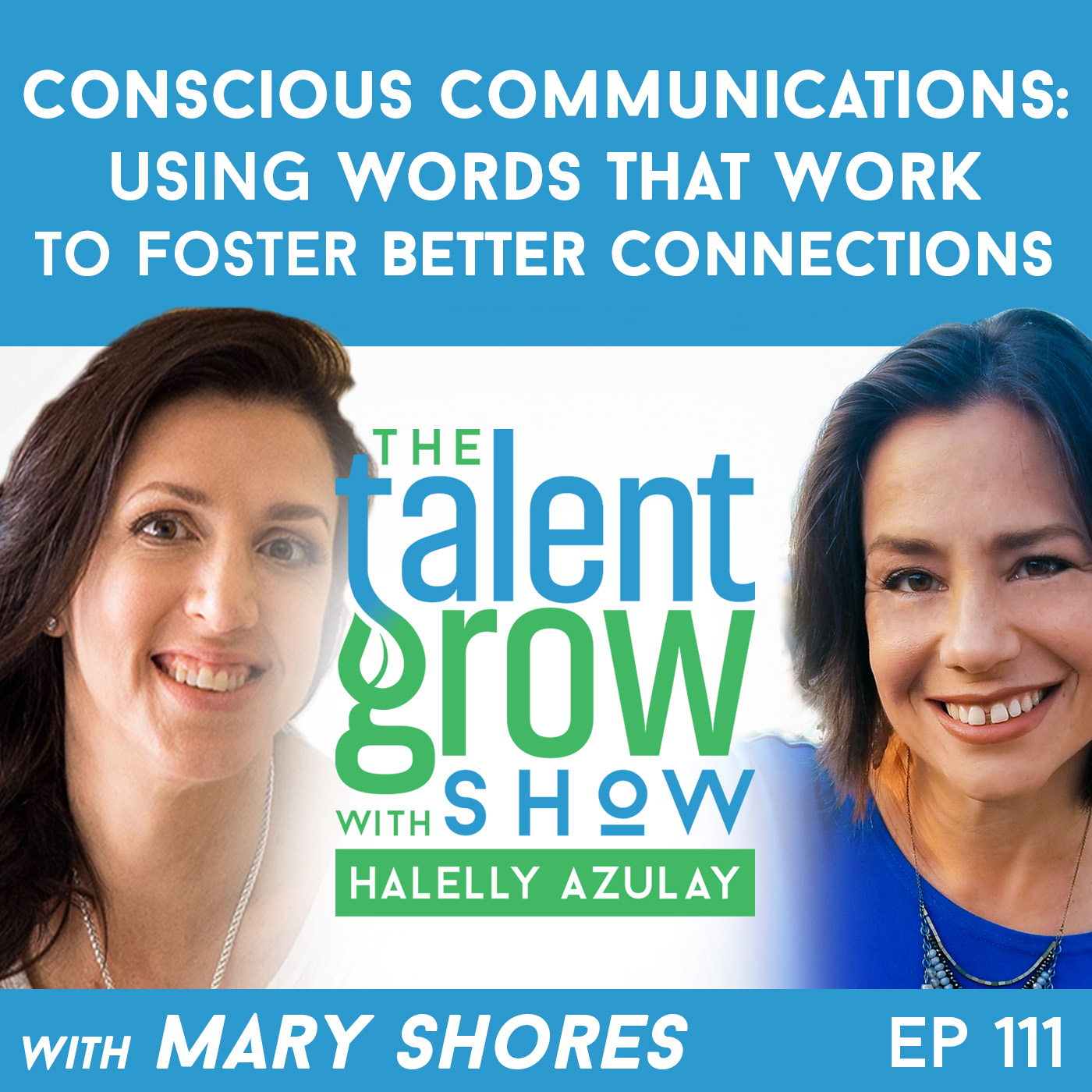 111: Conscious Communications -- Using Words That Work to Foster Better Connections with Mary Shores