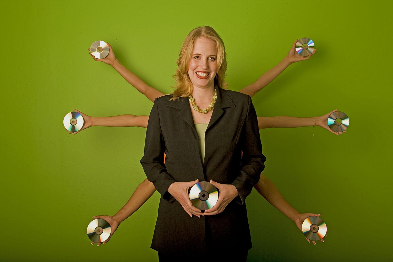 Stephanie Robertson  | co-owner & VP, Disc Inc
