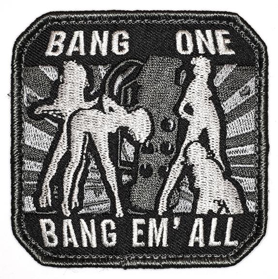 "Bang One, Bang Em' All, 2016, Archival Pigment Print, 24""x24"""