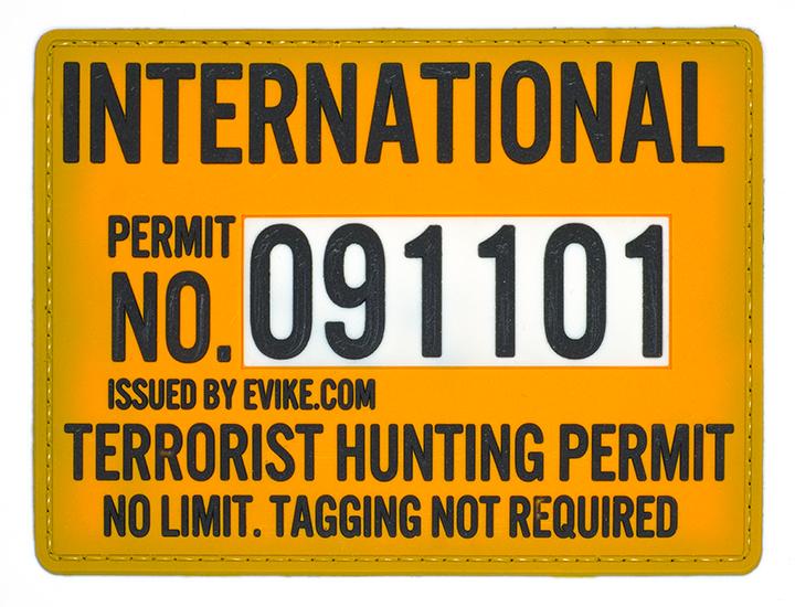 "International Terrorist Hunter, 2016, Archival Pigment Print, 22""x29"""