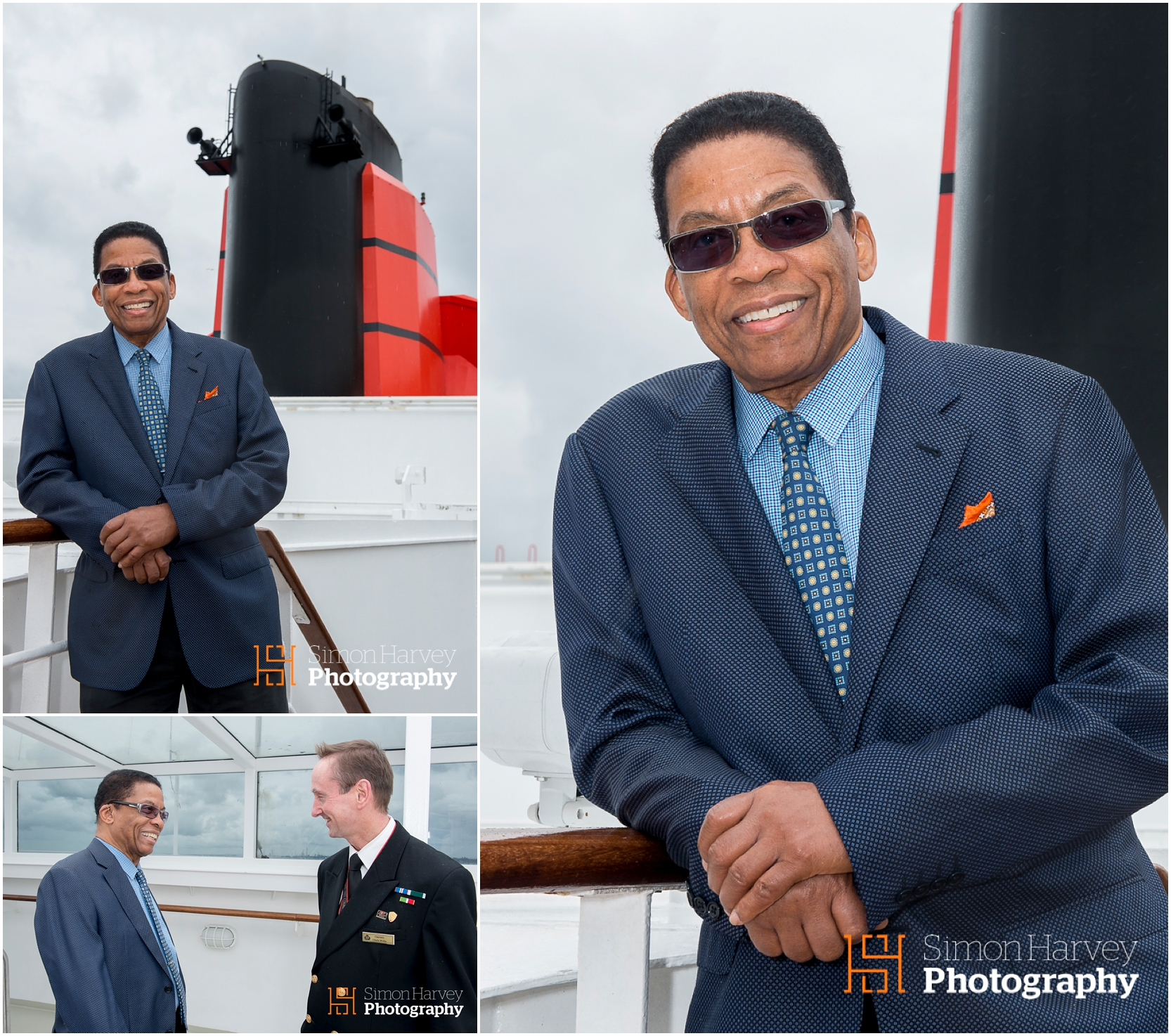 Herbie Hancock setting sail aboard the Cunard QMll
