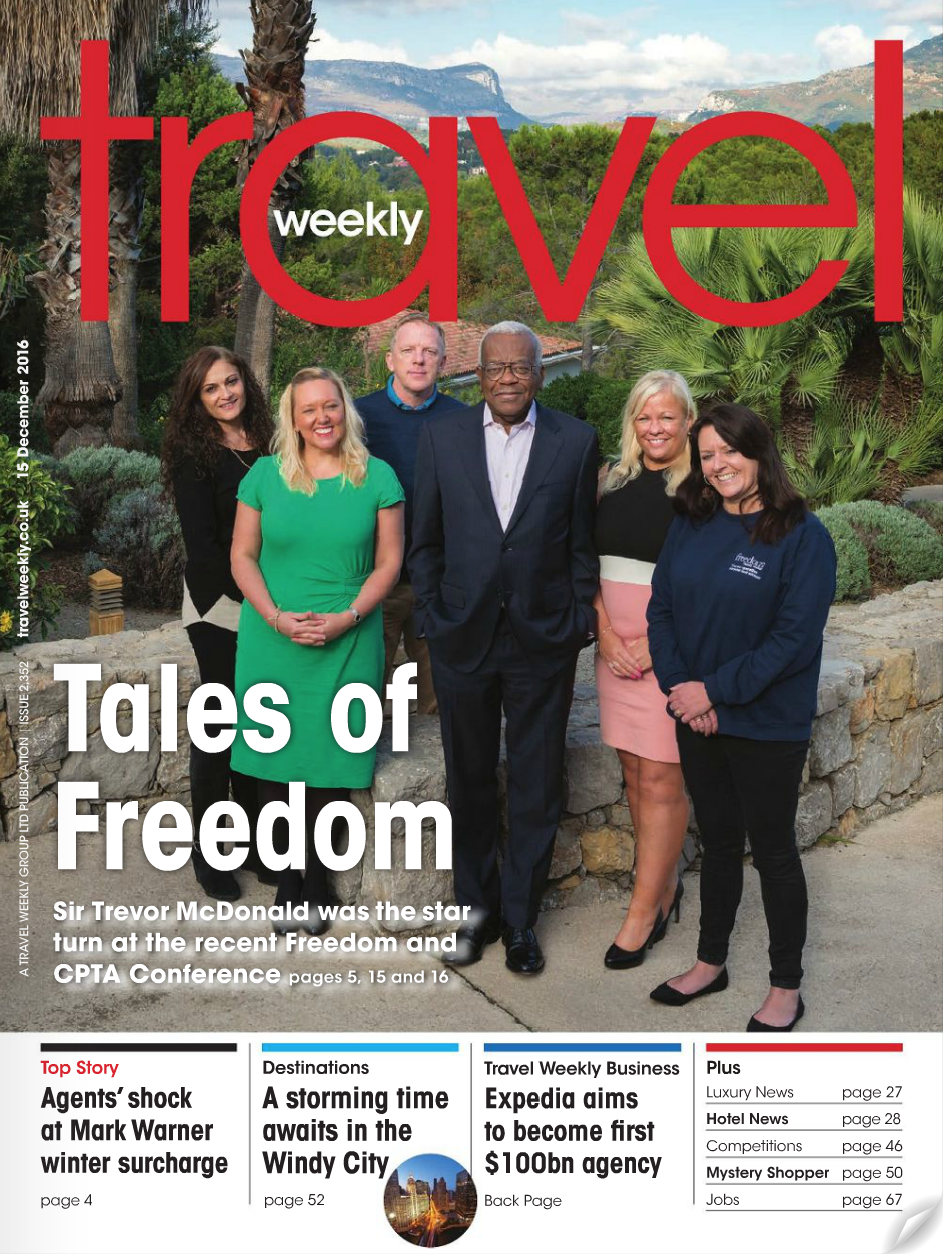 Sir Trevor McDonald appearing at the Freedom Travel and CPTA Conference - Nice, France