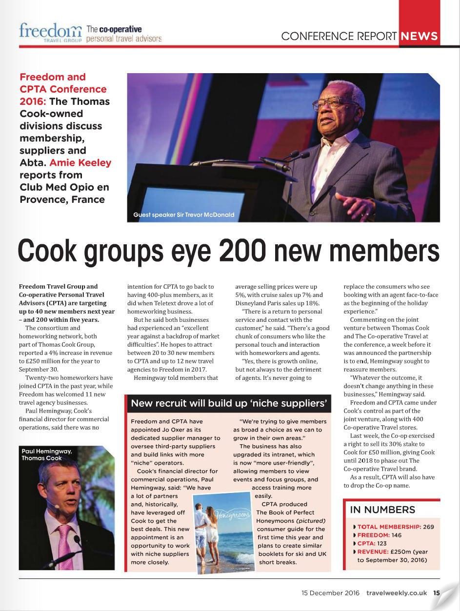 Cook Groups Eye 200 New Members