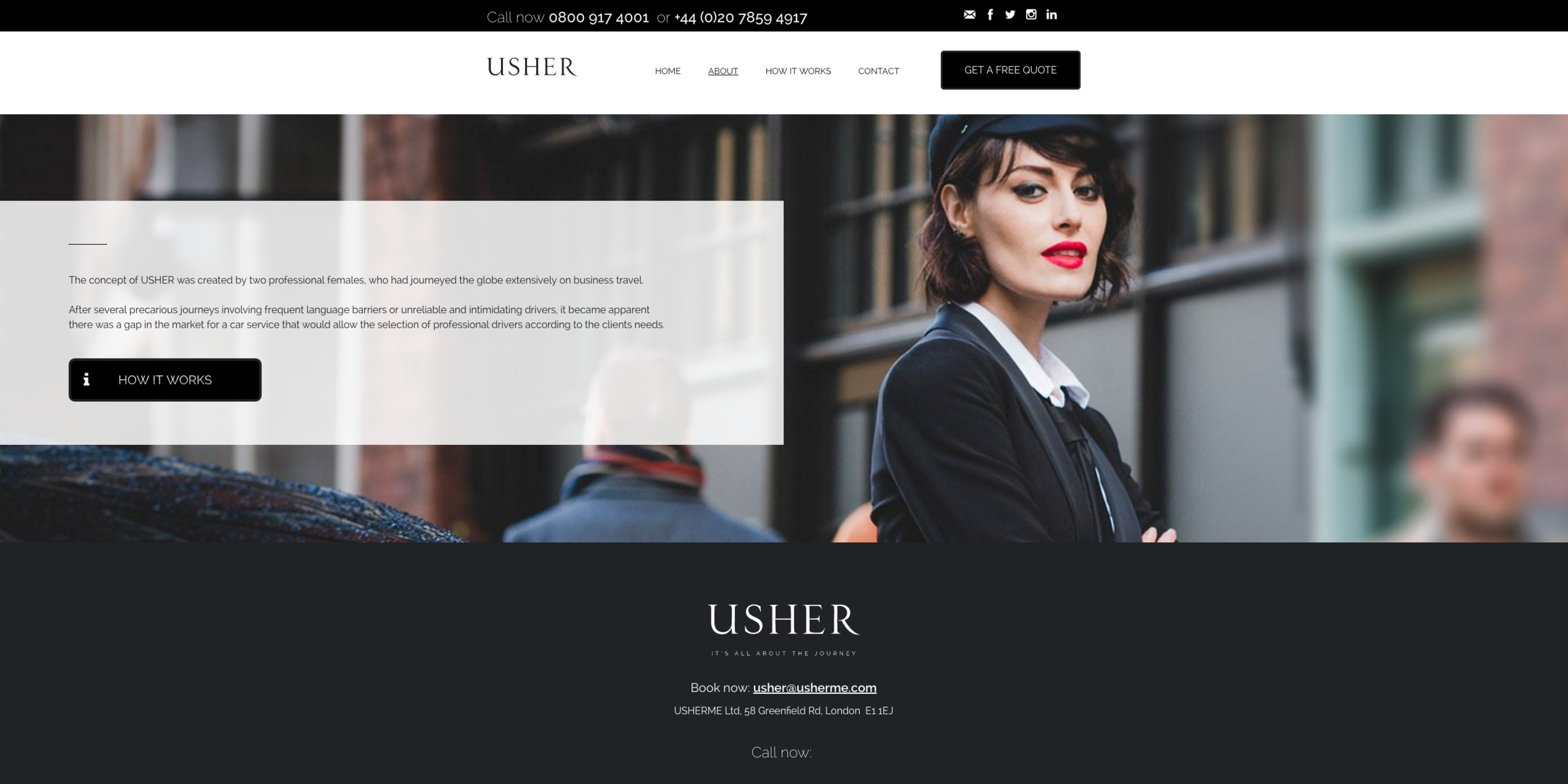Advertising Photography for Usher