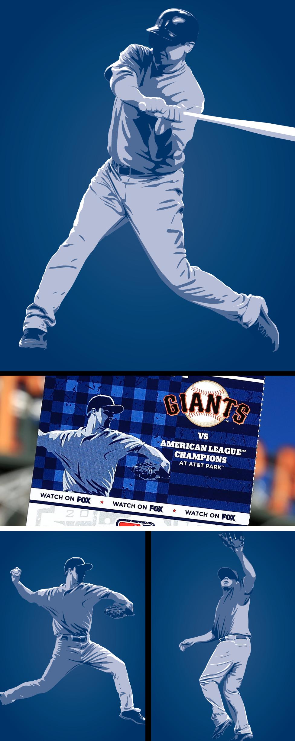 2012 World Series Player Art
