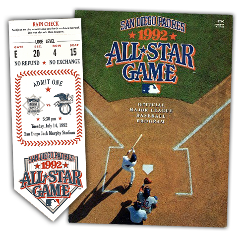 1992, The first All-Star Game brand built.