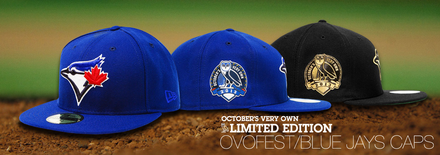 October's Very Own limited edition Toronto Blue Jays Cap.