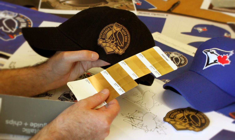 Custom Gold and Black Cap refinement. Spring 2013.
