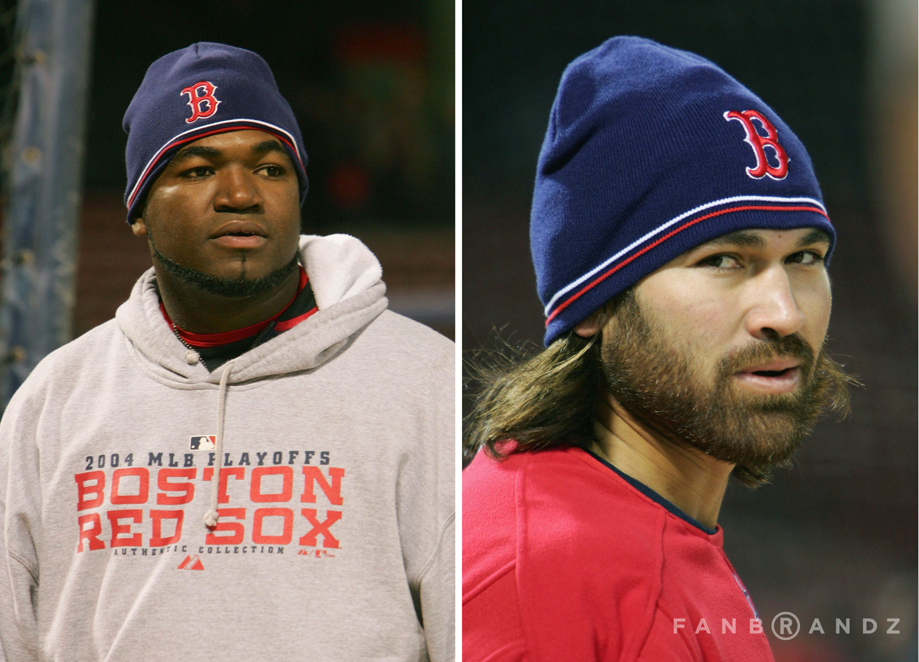 Before Pedroia and Napoli we could enjoy the beard of Damon.
