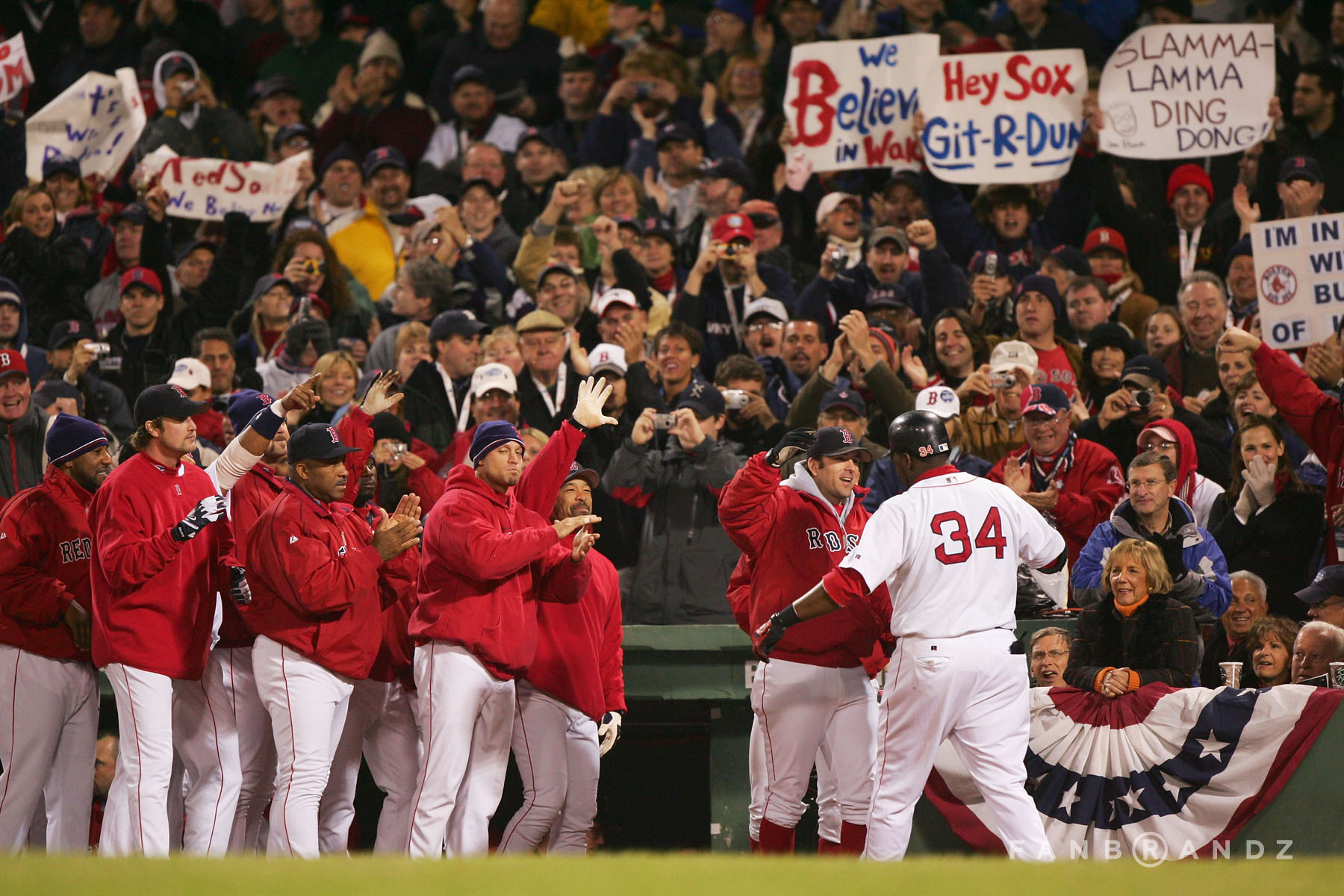 2004's Game 1 goes to the Red Sox.