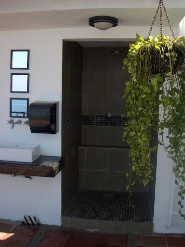 Rooftop Shower