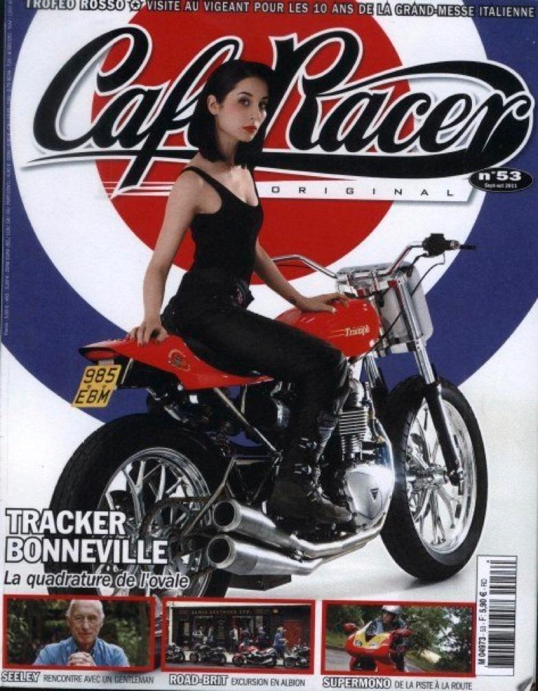 Cafe Racer Original - France: No. 53 September-October 2011