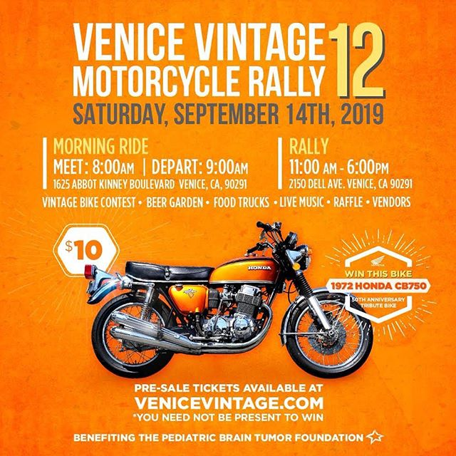 I will be bringing a few of my latest builds out to the @venicevintagemotoclub Venice Vintage Motorcycle Rally this Saturday! See you there!  #caferacer #hondamotorcycles #vvmc #Saturday #socal