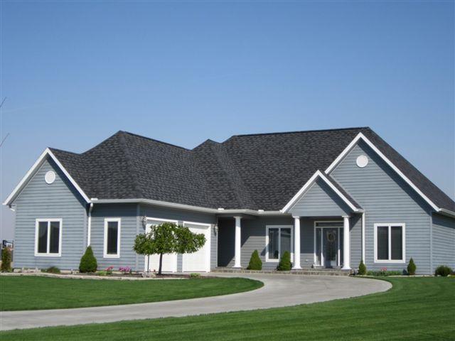 Custom built home in Archbold, OH