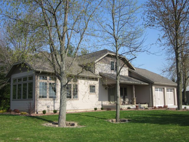 Custom built home in Fayette, OH.