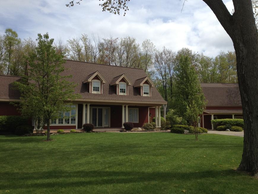 Custom built home in Devils Lake, MI.