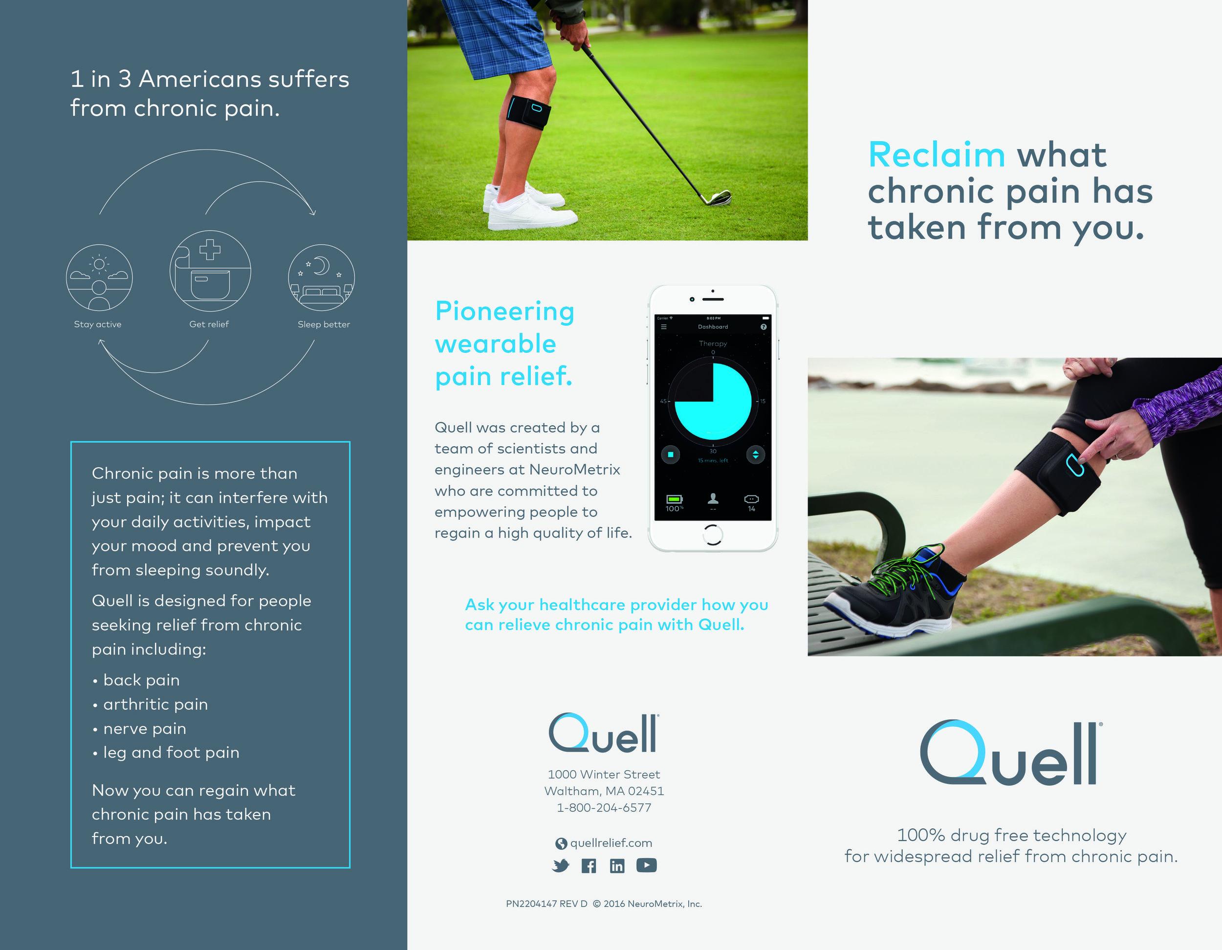 Brochure from NeuroMetrix