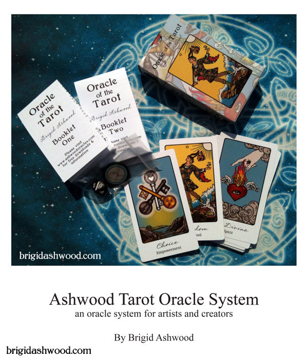 graphic relating to Printable Oracle Cards referred to as Tarot Oracle Method Brigid Ashwood