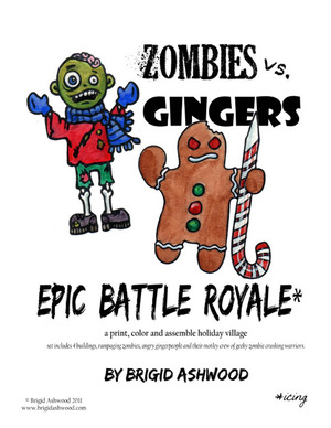 Click here for the Zombies Versus Gingers Holiday Town.