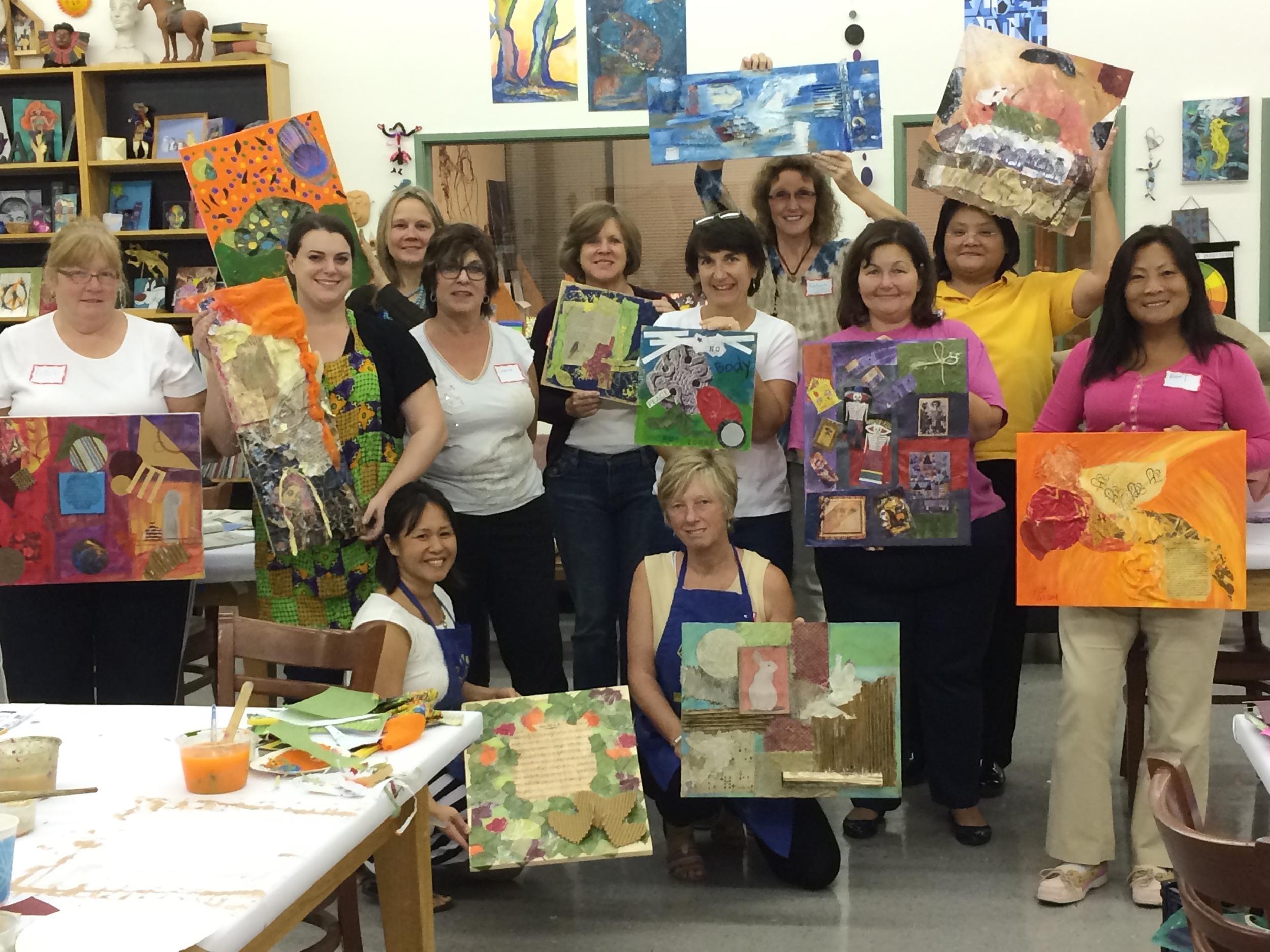 Cabernet, Canvas & Color Workshop