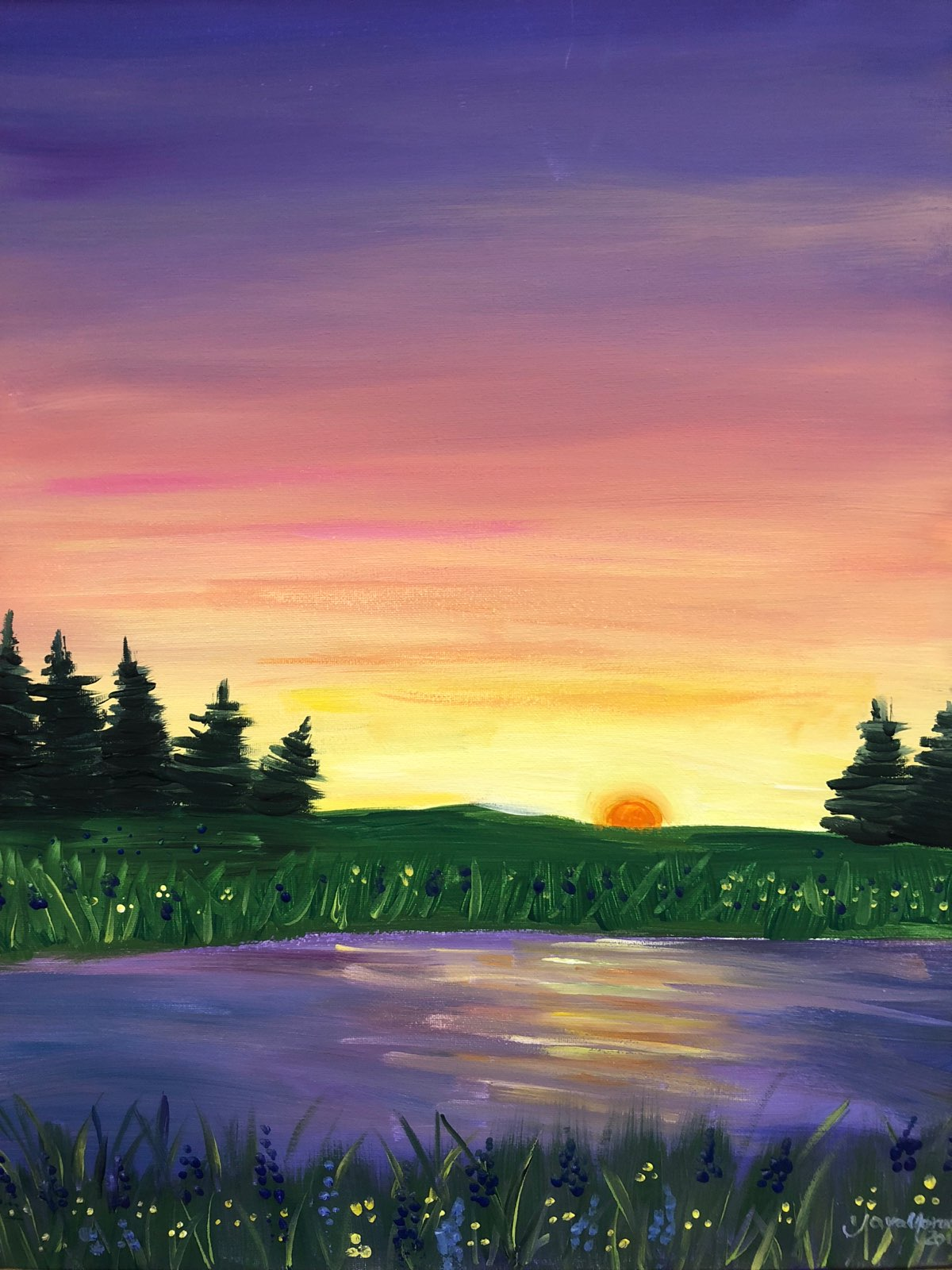 Paint Night for Teens - Wednesday, August 226-8:30p  $10 per teen*Ages 13-19