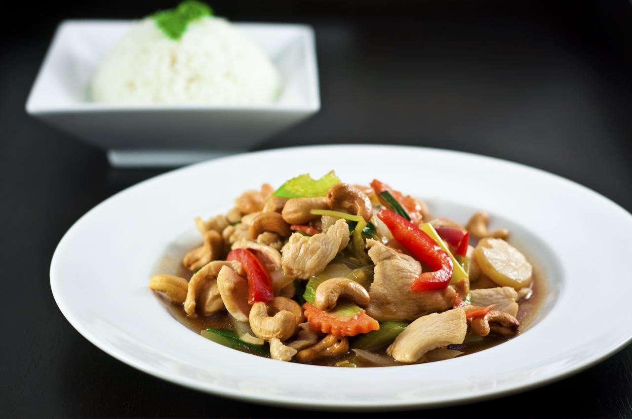 21 Cashew Chicken