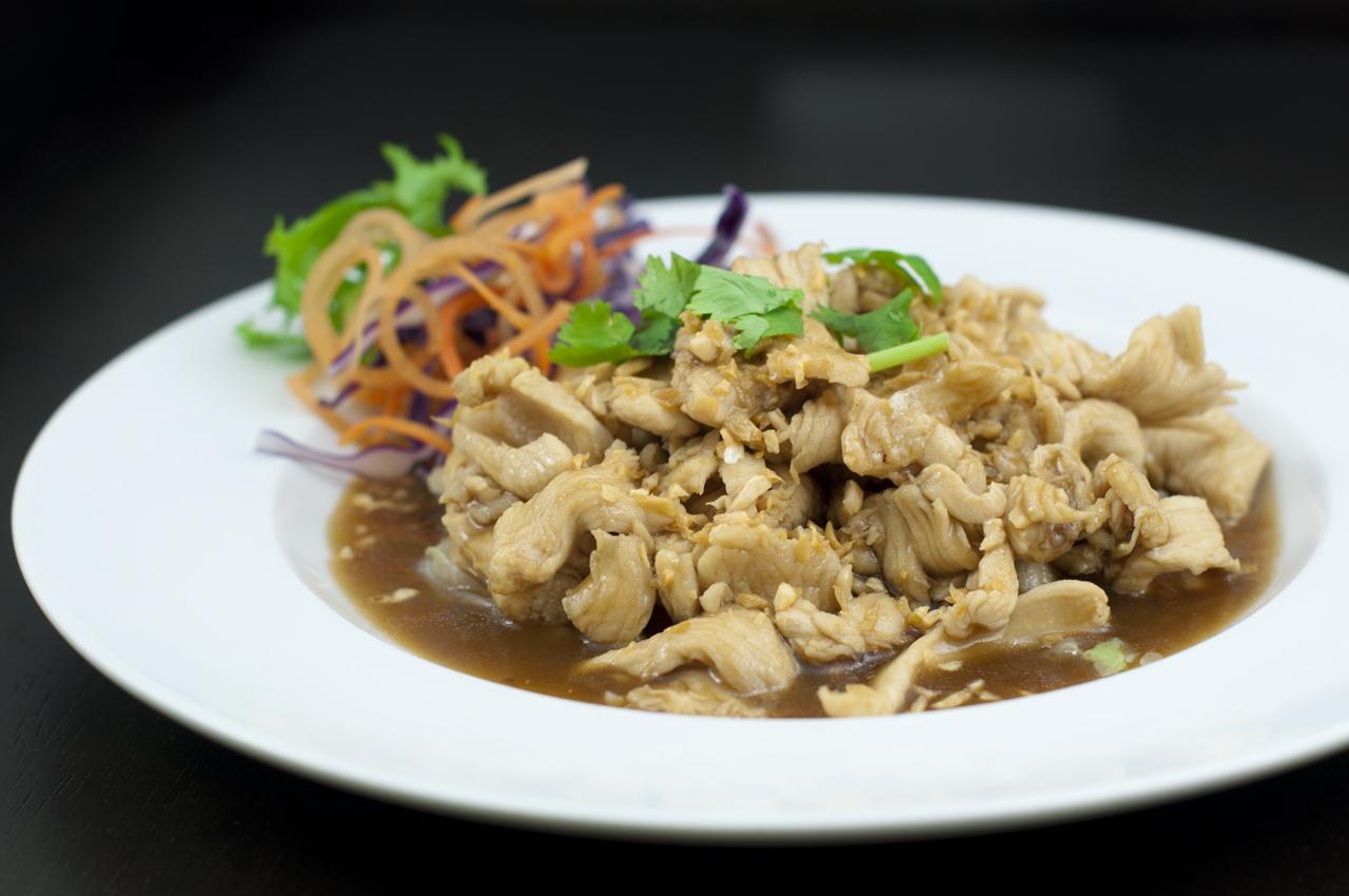 27 Garlic Chicken