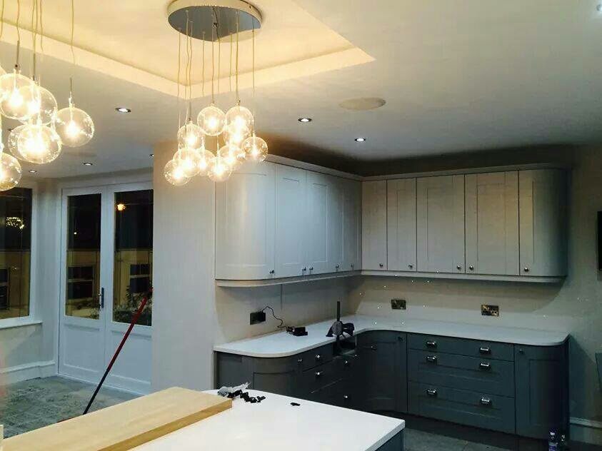This project featured an enlarged family kitchen and an improved connection with the garden.