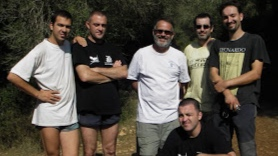 Nohoch Productions and Television Española (TVE) Al filo de lo imposible film/dive team in Mallorca, Spain.